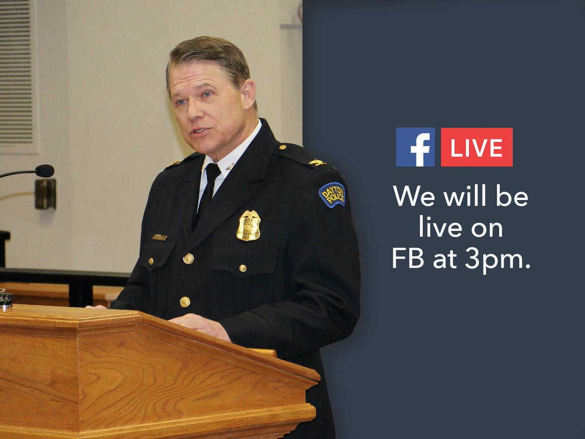 Chief Richard Biehl will hold a press conference to update the officer involved shooting incident that occurred in the early morning hours of Thursday, September 24, 2020 on Wayne Avenue.