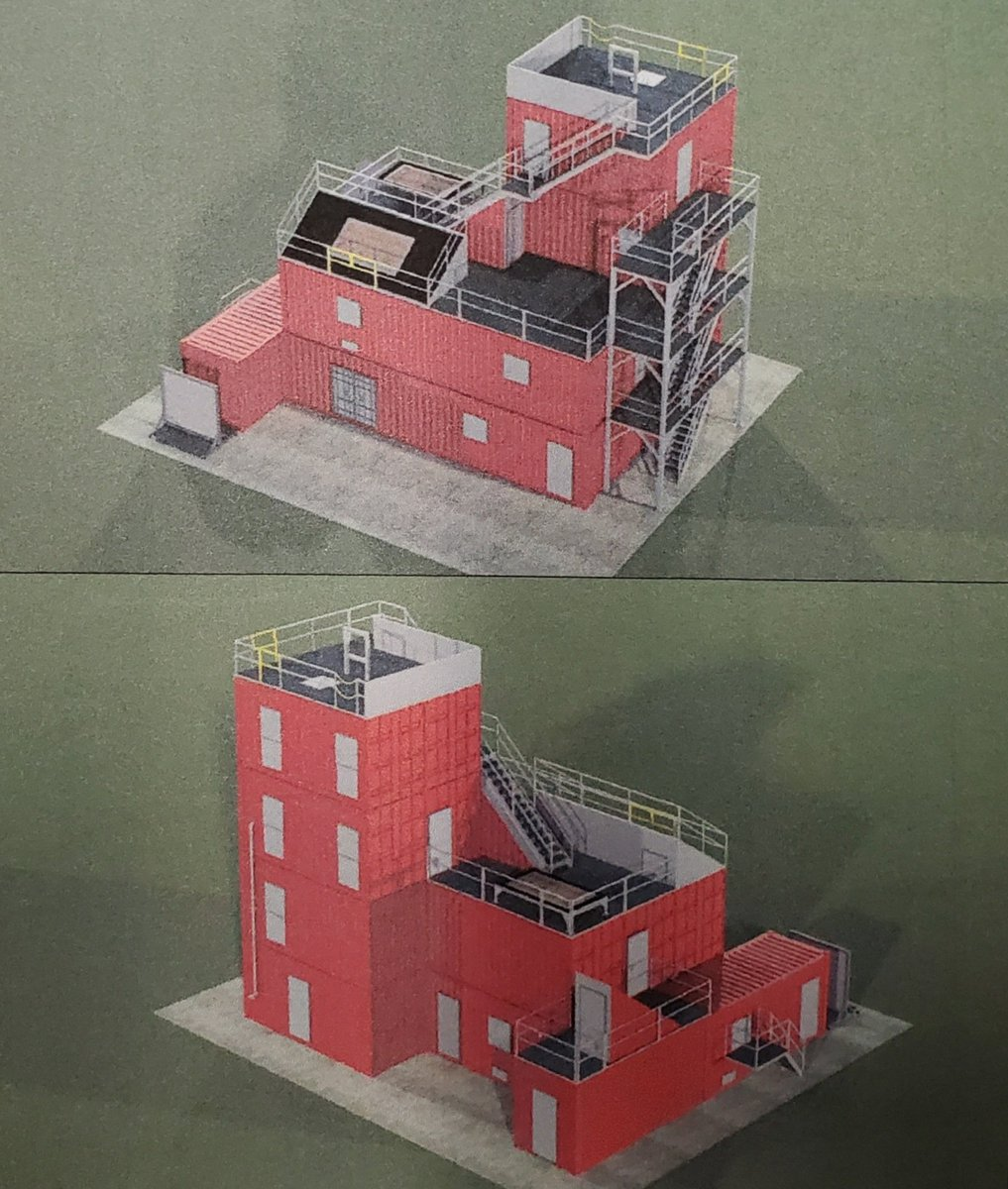 2/2 The building shown is a conceptual model of our design. This is an amazing building that will provide hands on, invaluable training to both our members and firefighters within our region. @MAFireDistrict7