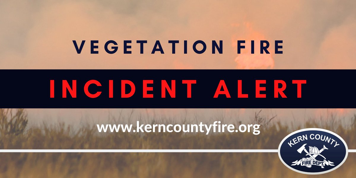 #EagleFire #vegetation fire near Havilah, CA. Air and ground resources on scene. Approximately 25 acres.