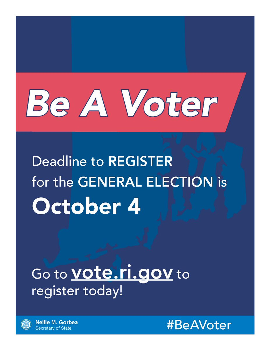 Register to vote or update your voter information on . It takes less than 5 minutes to make sure you are #VoteReadyRI. #TrustedInfo2020
