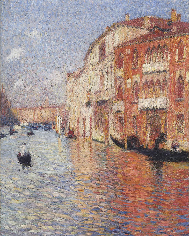 Jaune Palace in Venice #henrimartin #impressionism https://t.co/HcgEiYsYTS