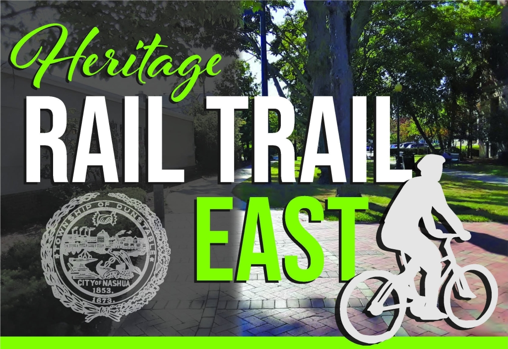 In case you missed the Proposed Action Meeting for the Heritage Rail Trail East, the presentation and a video of the meeting are available on the project website at  You may submit comments on the project through Friday, October 2nd to: HRTEast@nashuanh.gov