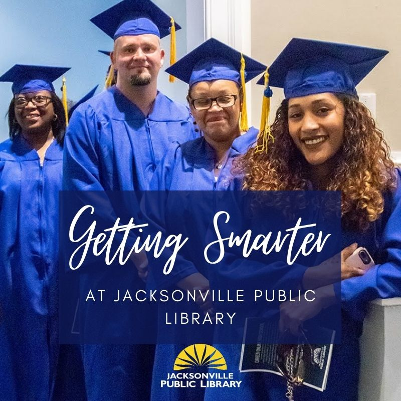 You, someone in your family or someone you know is looking to take their career to the next level, but where to start? Register for the Library's free GED® test preparation program today. Classes start soon! Get smarter at Jacksonville Public Library here: