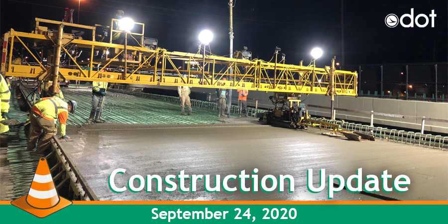ODOT D12 Construction Update for September 24  ✅ Rolling road closures on I-480 at I-271 starting Sun night ✅North Coast Harbor will be closed on Mon ✅Closures on SR44 ramps at SR 2 in Lake Cty Tonight  Learn more about all the D12 projects going on at: