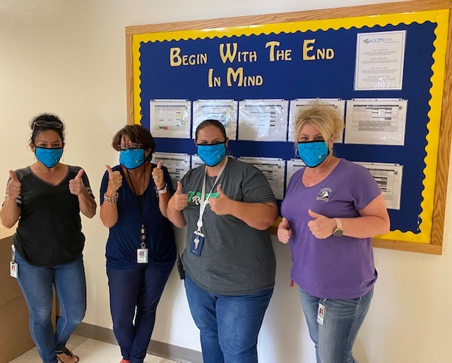 A special thank you to @SuncoastCU! They continue to be a trusted partner in education. Most recently, they donated 7,000 masks for our employees! Thank you, Suncoast, for your ongoing support, especially during these unique times. #CCPSFamily