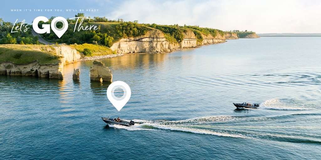 180 miles of rugged shores and some of the best fisheries in the country. That is Lake Sakakawea for you. When you're ready for adventure, North Dakota will be here. #LetsMakePlans #BeNDLegendary