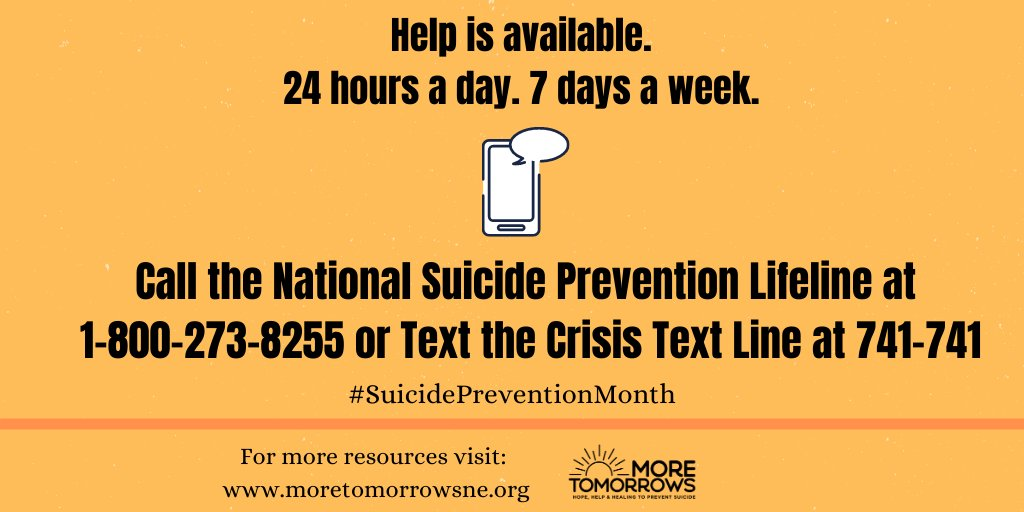 RT @KFYCouncil: Help is always available 💛  #YouMatter #SuicidePreventionMonth