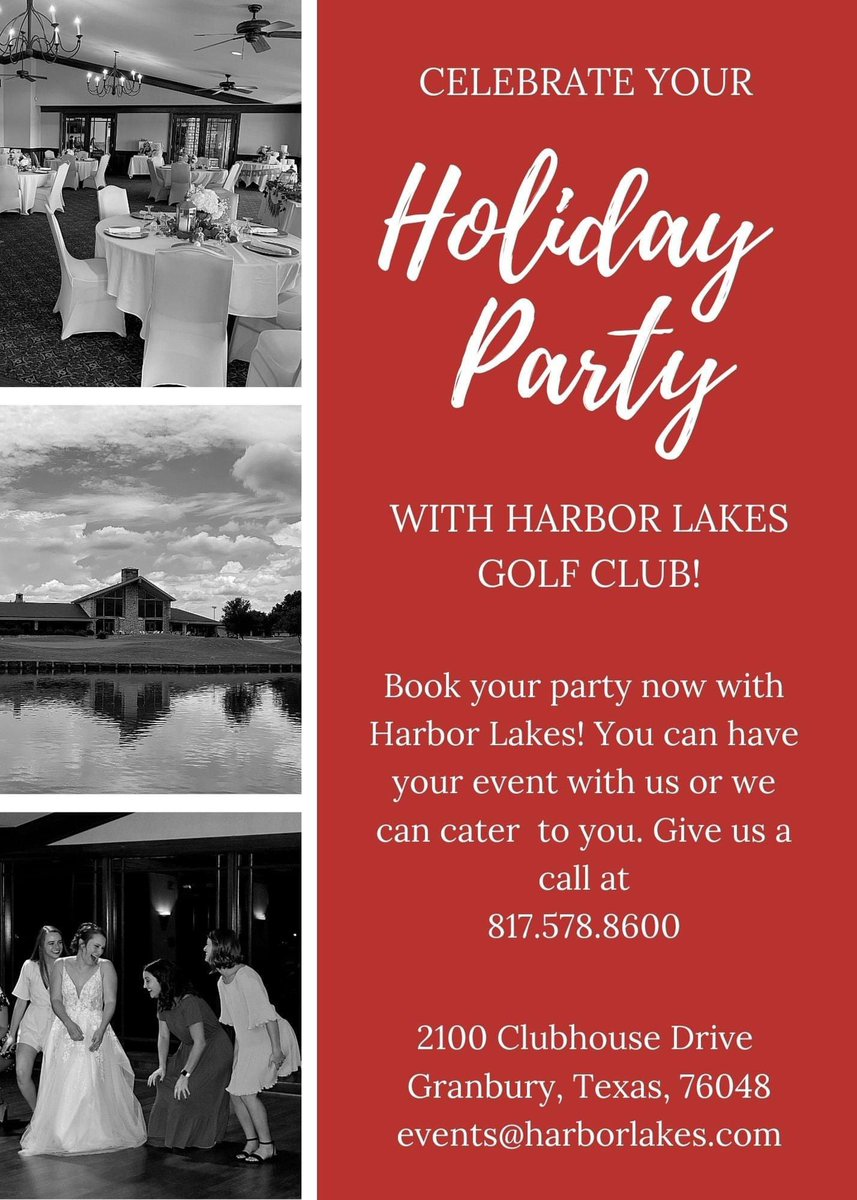 🎉Planning your holiday party? Be sure to check out @harborlakes‼️