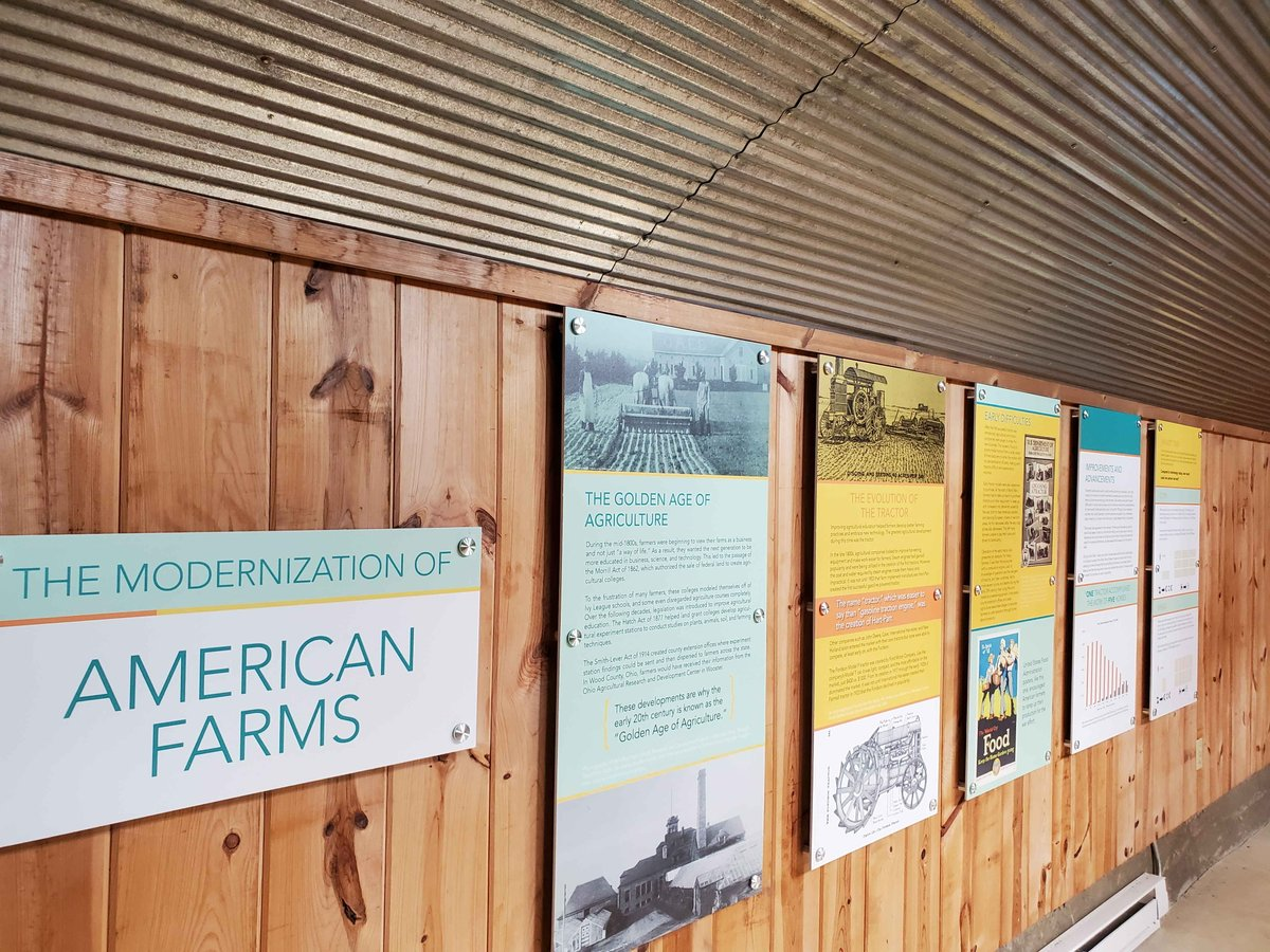 Interpretive panels have been installed at the Carter Historic Farm. Once facilities are open again, we look forward to sharing these with you.