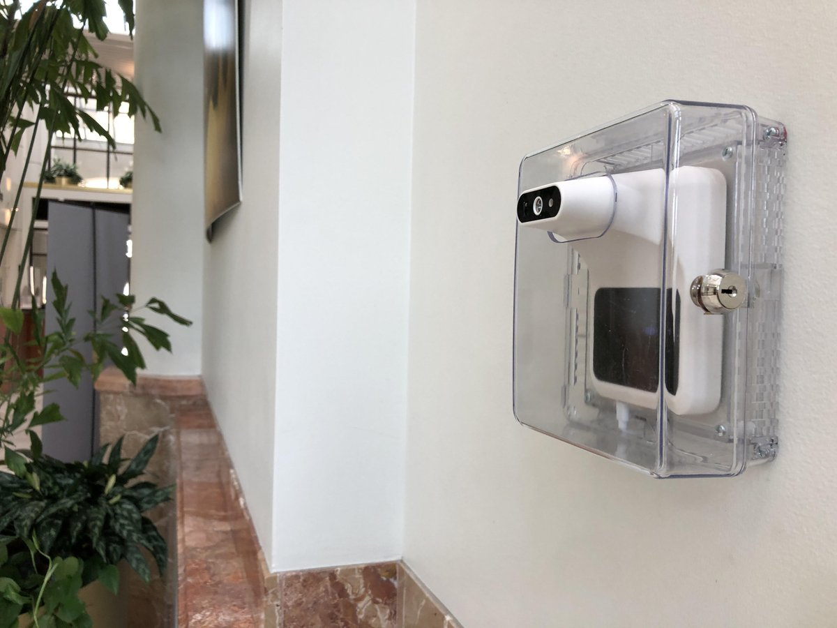 Temperature check stations are now installed inside entrances to the Administration Building on Ludlow. We require all staff and visitors to use these stations upon arrival beginning Monday, September 28. Instructions will be posted near each scanner. Stay safe and stay healthy!