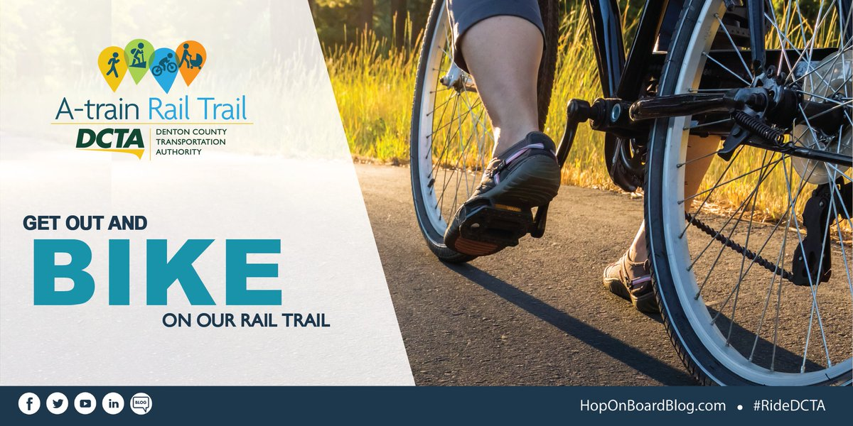 You can walk, bike or run but whatever you do, get active! Our A-train Rail trail is a great place to soak in the sun. 🌞 We even have a handy new trail map! The map features rest areas, connecting trails and more. Check it out here: