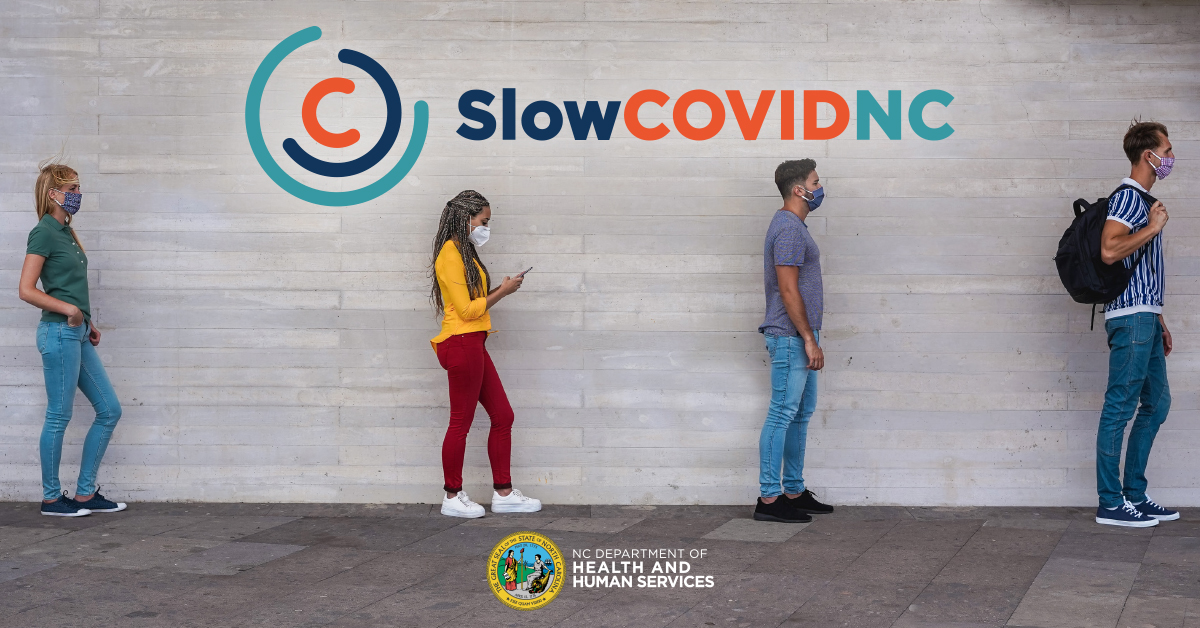 Protect yourself from #COVID19 with 3 easy steps:  1️⃣   Download the #SlowCOVIDNC app for free from the Apple App Store or Google Play Store 2️⃣  Enable Bluetooth and Exposure Notifications 3️⃣  Opt-in to receive notifications  More at  #StayStrongNC #Brunsco