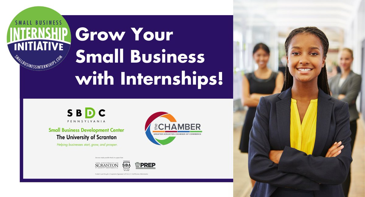Join us on October 22 to learn more about how internships can benefit your small business. Register today: