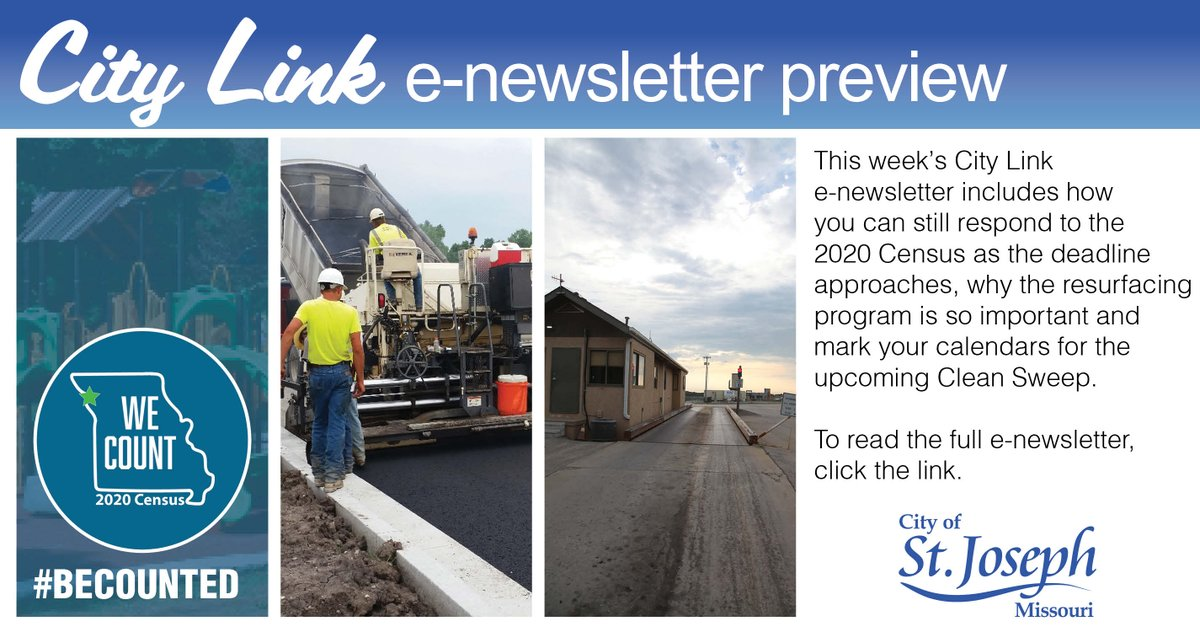 The most recent City Link digital newsletter is now available. Read the September 24, publication at the link below: