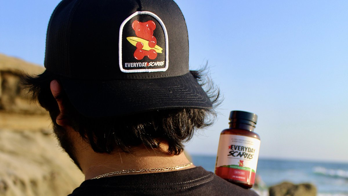 Sunday Scaries' 10mg CBD gummy bundle aims to put an end to, well, Sunday scaries for $37 (baseball cap included)