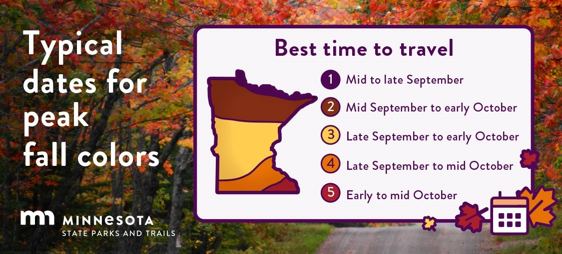 Fall colors are starting to peak in Northern Minnesota! 🍁 Find your front row seat to the show:  #JustAddNature #OnlyInMN