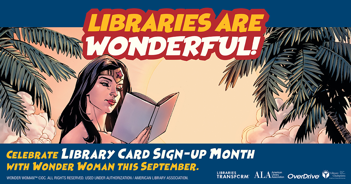 Know someone in Prince William County or Manassas City who needs a library card? They can sign up for a digital library card at  to access our digital resources or visit one of our libraries for a physical library card! #pwplibraries
