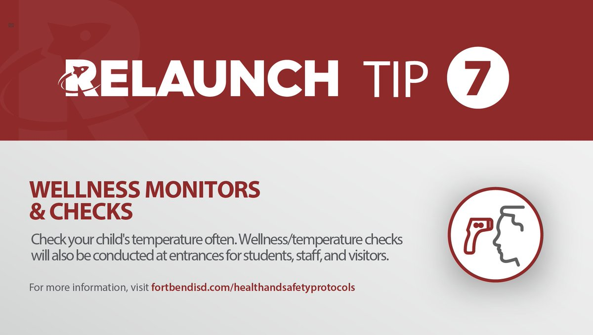 Wellness monitors have been hired across the district and will be stationed at all campuses to support health and safety functions. Wellness/temperature checks will be conducted at entrances for students, staff, and visitors.