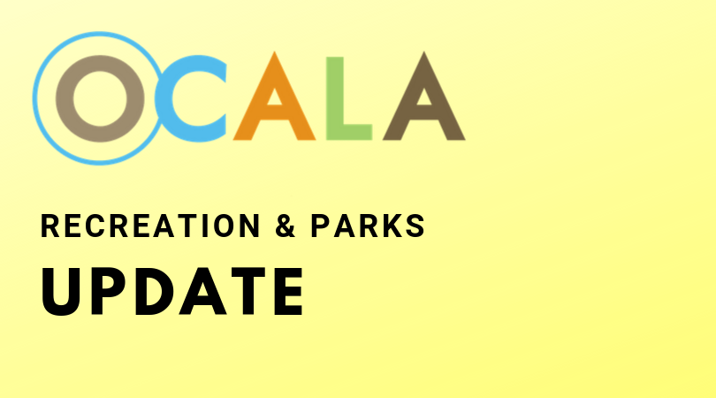 The playground at Lillian Bryant Park, 2200 NW 17th Pl., will close Friday, Sept. 25 for routine maintenance. The playground is expected to reopen Saturday, Sept. 26. Hours of operation are sunrise to sunset.   For more information, please call @OcalaRecreation at 352-368-5517.