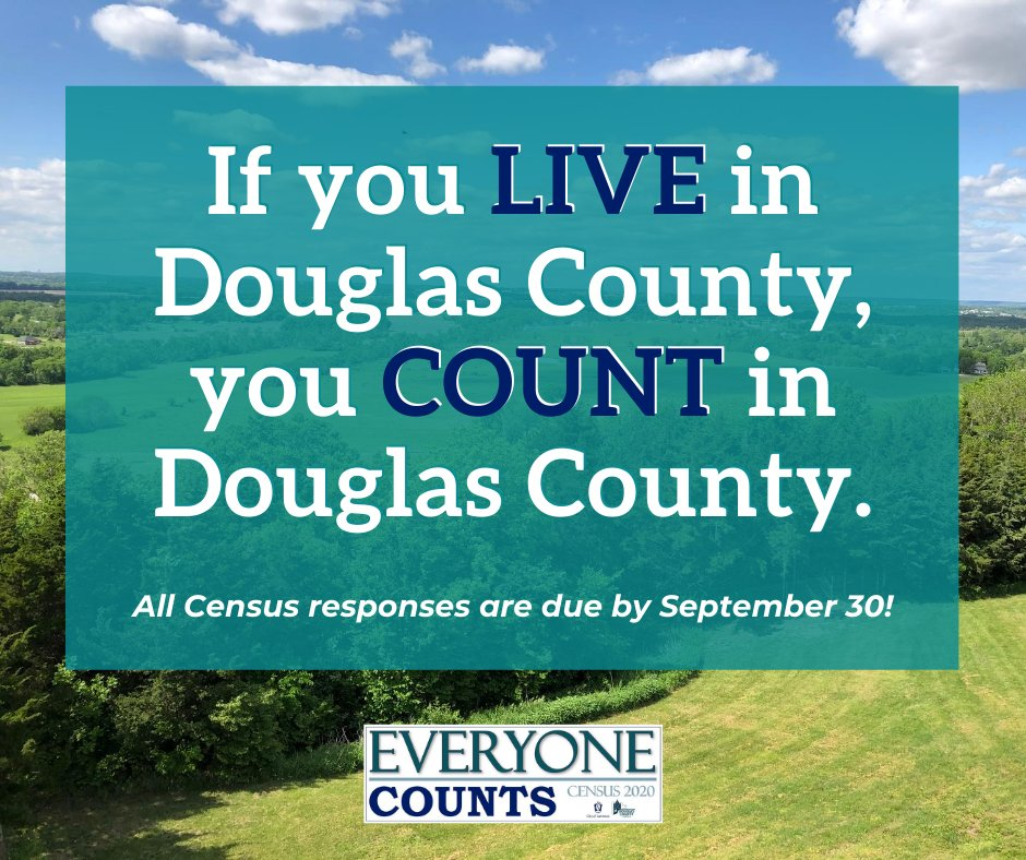 The census affects every person, every day. Be Counted in 2020. Respond now at  or call 844-330-2020. #ShapeYourFuture @lawrenceks @CityofEudora @baldwincityks @LecomptonKS
