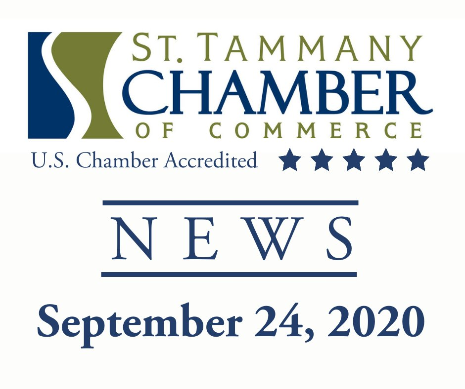 District Attorney Forum recording, information about Legislative Special Session, Census deadline imminent and more in today's Chamber News:   #StTammanyChamber #StTammanyStrong