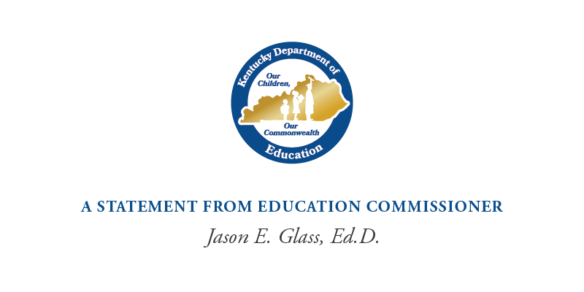 An important message on racial equity & anti-racism in our schools from Commissioner & Chief Learner, Dr. Jason Glass: