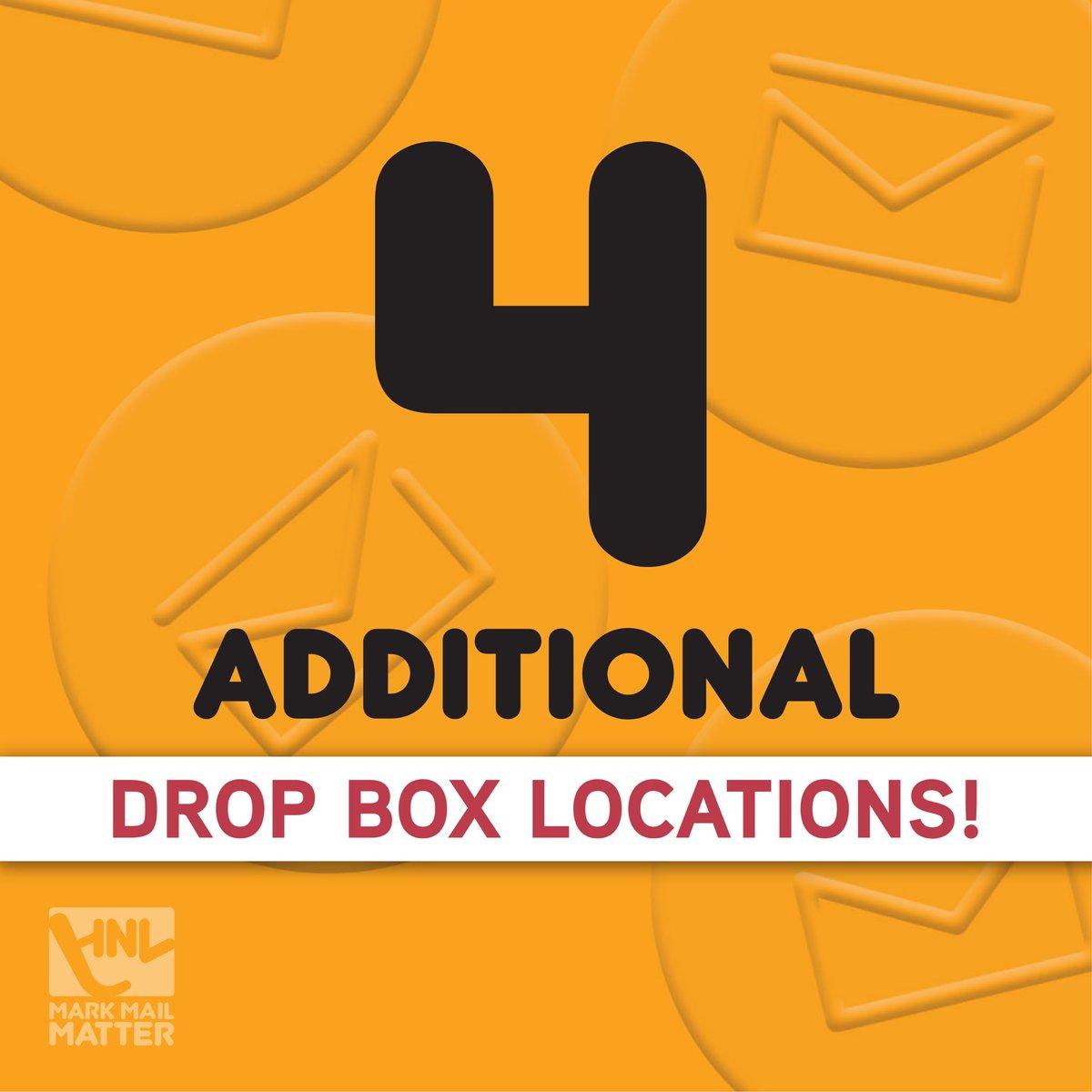 RT @HNLelections: #newballotdropboxlocations #hnlelections #voting #honolulu #oahu