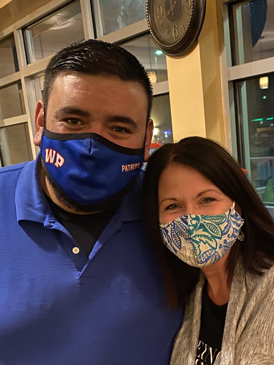 """Mrs. Jones asked Lupe at El Paso who he thought would win tomorrow night. He said, """"look to the mask""""."""