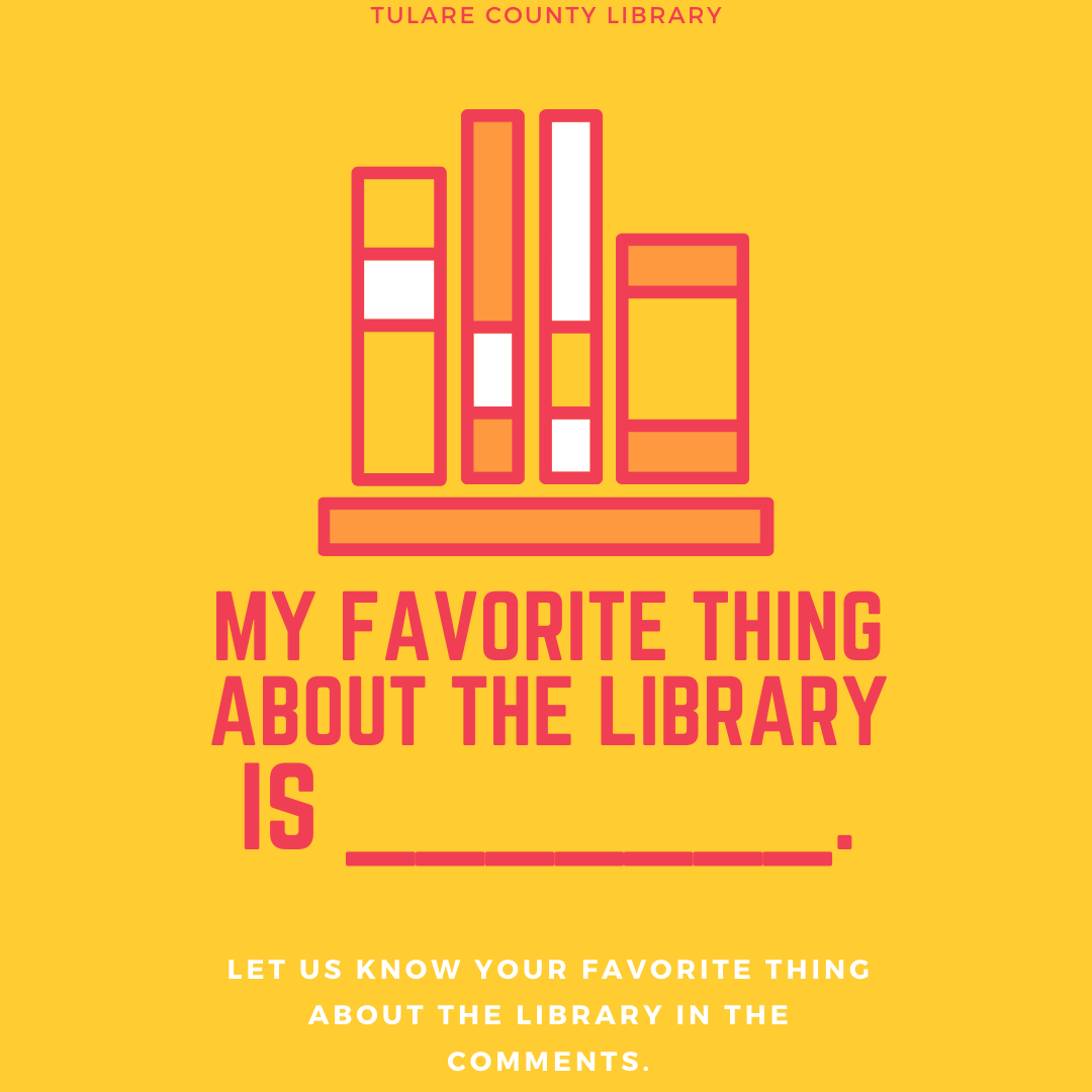 What's your favorite thing about the library? #TCL #TCLib #librarylife #lovemylibrary #supportyourlibrary
