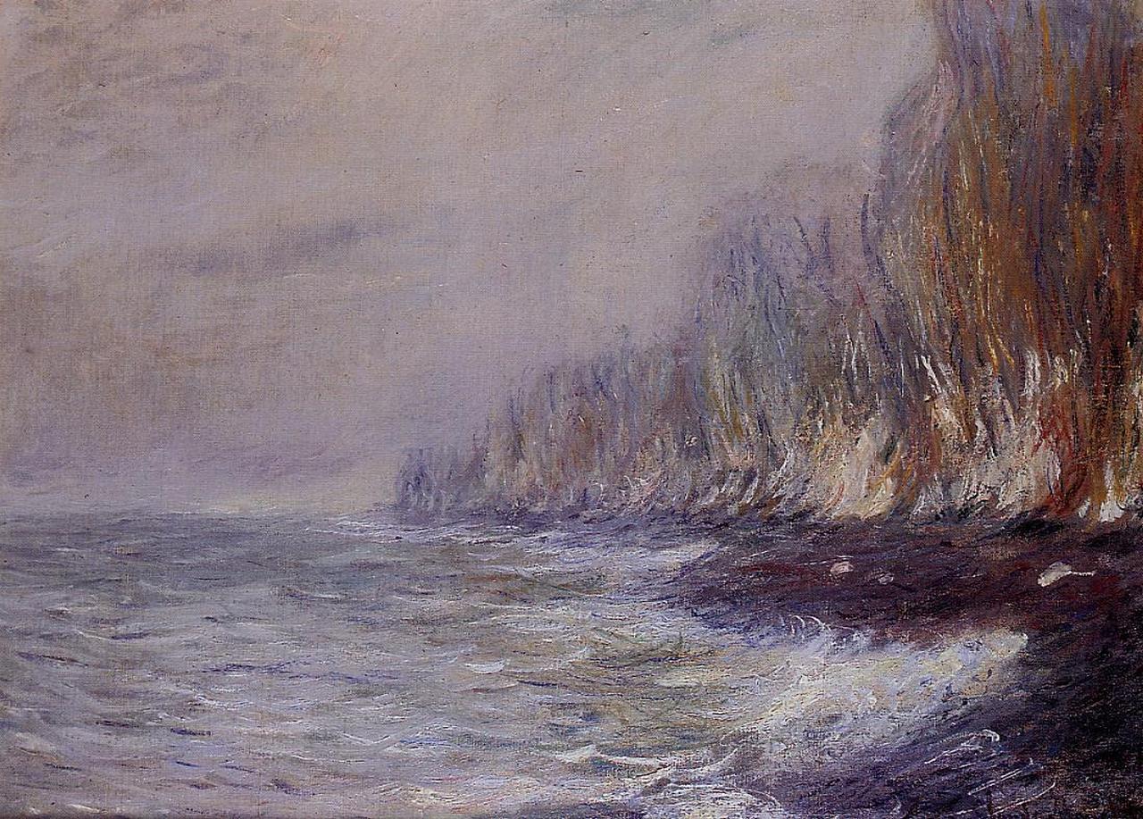 The Effect of Fog near Dieppe, 1882 #claudemonet #monet https://t.co/KedwU3BDCM