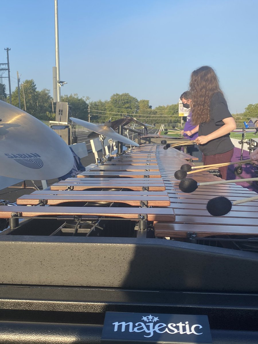 RT @ChieftainBand: Percussion and Guard performance tonight @ChieftainNation Game Tonight! See you there!