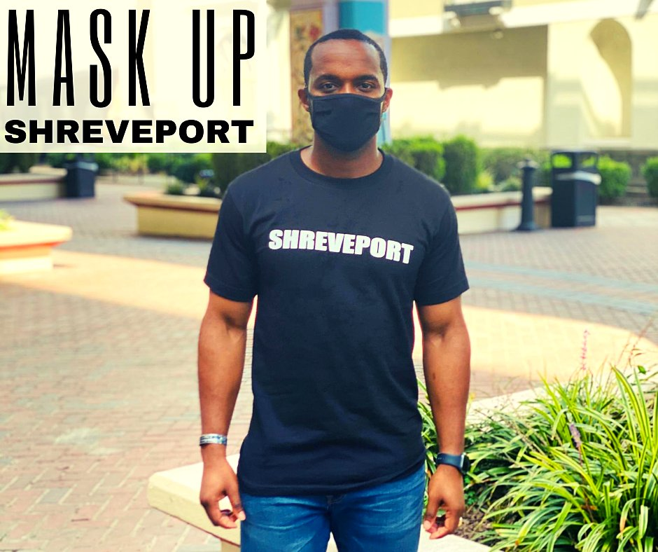 Mask up this weekend and be safe. #LoveShreveport