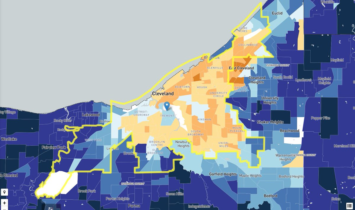 5 DAYS left! Cleveland has a 50.5% response rate. WE HAVE TO DO BETTER!!  The @uscensusbureau is critical to our region to support schools, medical and mental health services, housing, etc.  Fill out the Census by SEPT. 30th at  or call 844-330-2020.