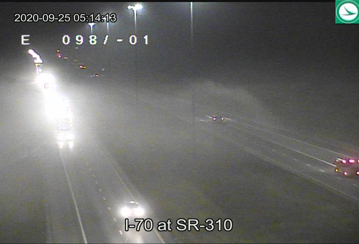 Surface observations, satellite, and ODOT traffic cameras are all indicating patchy fog this morning. Because the fog is patchy, visibility changes could happen quickly for those on the road. Drive safe! #inwx #ohwx #kywx