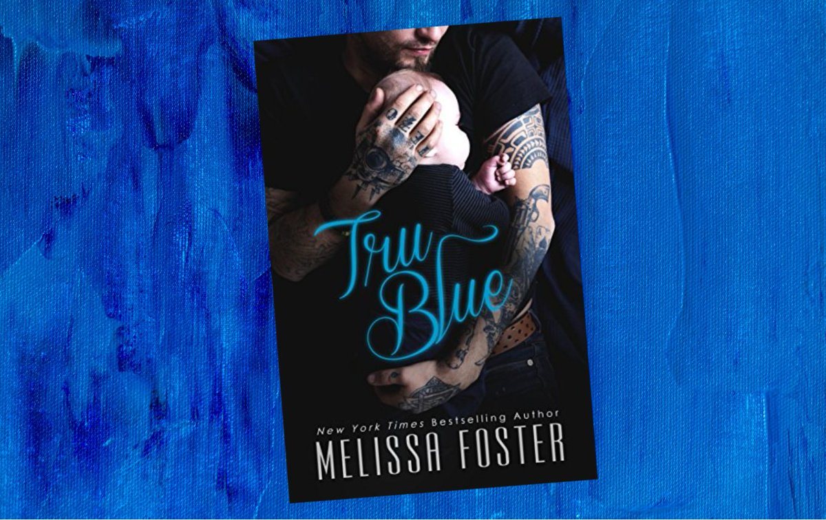 Grab your #FreeEbook by @Melissa_Foster  💙 Tru Blue ($4.99 value)  💙 Convicted of a crime he didn't commit, he wore the skin of a killer, and bore the heart of a lover… 💙 Fall in love with Truman Gritt in TRU BLUE