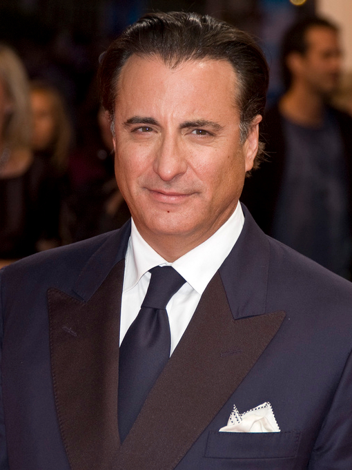 Andy Garcia moved to Miami from Cuba when he was five years old.  He became interested in acting when he was in high school and studied acting in college. Garcia has now appeared in more than forty films. He has also produced and directed films and appeared in many TV shows.