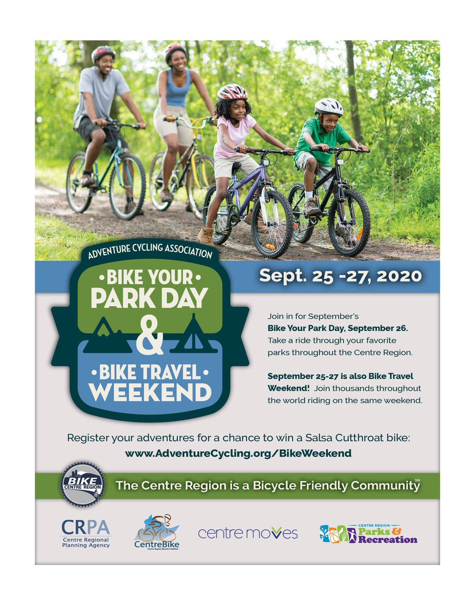 RT @CRPR_sc: Join thousands riding on the same weekend!