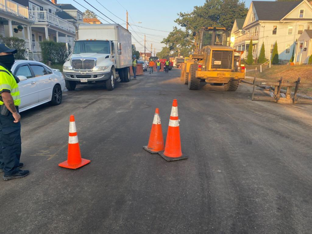 Exeter St  is going to be shut down between Grafton St and S Union St for water line repairs 🚧