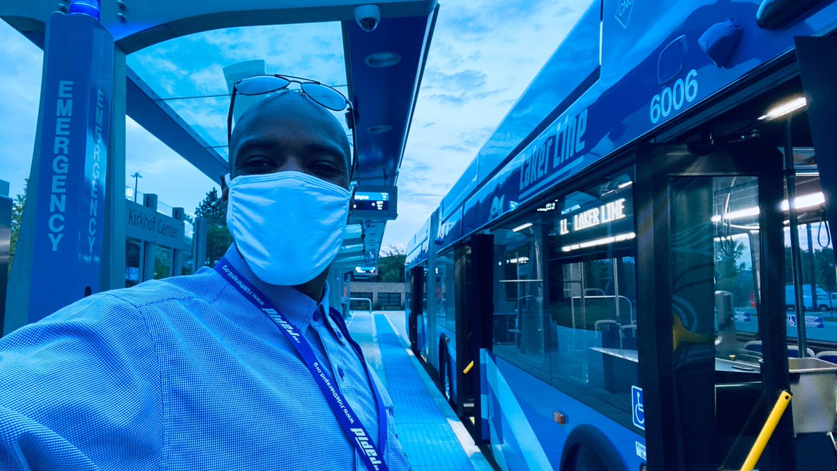 Good morning from Bus Operator Marcus on the Laker Line!