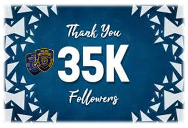 Thanks to everyone who helped us reach 35K followers on Facebook!