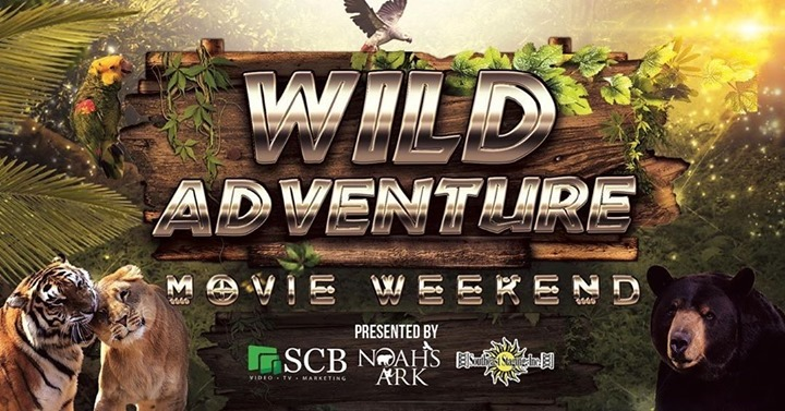 During the Wild Adventure Movie Weekend October 9-10, see the residents of @NoahsArkClub on a self-guided tour then enjoy a viewing of Jumanji: The Next Level.  Learn more:   #animallovers #driveinmovie #BetterExplored