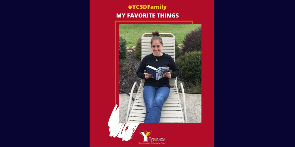 Each Friday, CEO @JustinJennings6 shares the favorite things of our staff. Today's #FridayFavoriteThings is from  Dominique Kestranek, Chaney High School 10th Grade English Teacher. She says,