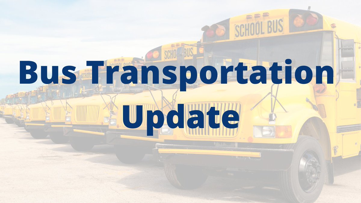 Elementary (K-5) bus passes can be picked up at your child's school beginning today, Sept 25th. Middle school passes will be available next week. More info on FHS to come. Bus routes will be posted here  as soon as they are finalized.