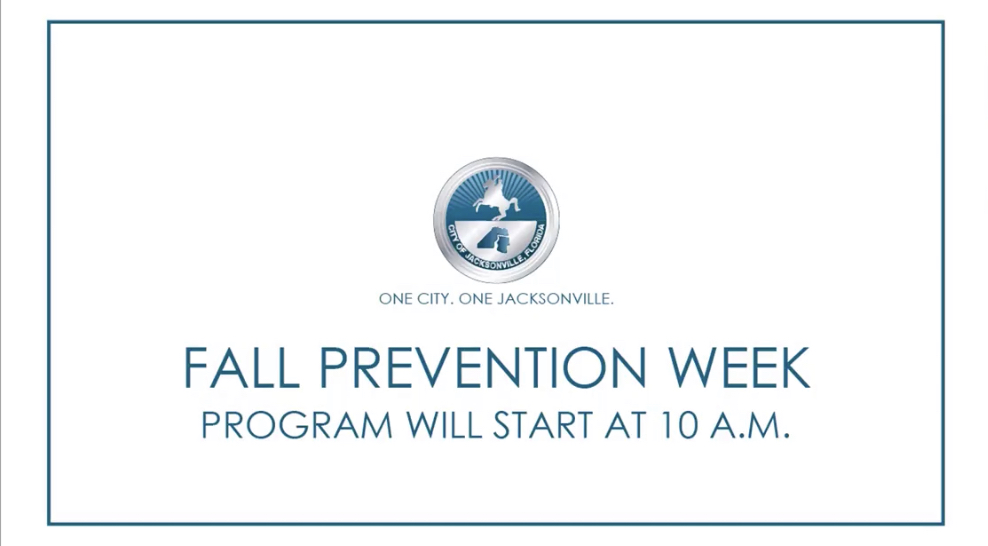 As National Fall Prevention Week comes to a close, our Senior Services Division is hosting one more live virtual presentation this morning at 10am.  Here is the direct link:   For more information and earlier presentations, visit: