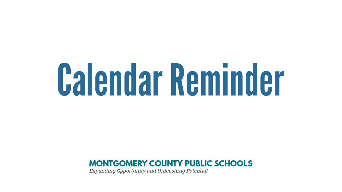 Calendar reminder: There is no school for students on Monday, Sept. 28.