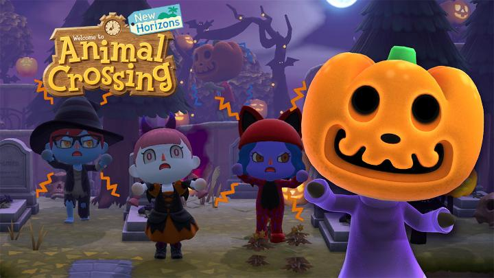 [Announcement] Find spooky surprises with the Fall update for #AnimalCrossing: New Horizons, arriving on 9/30! 🕸️🎃🍬