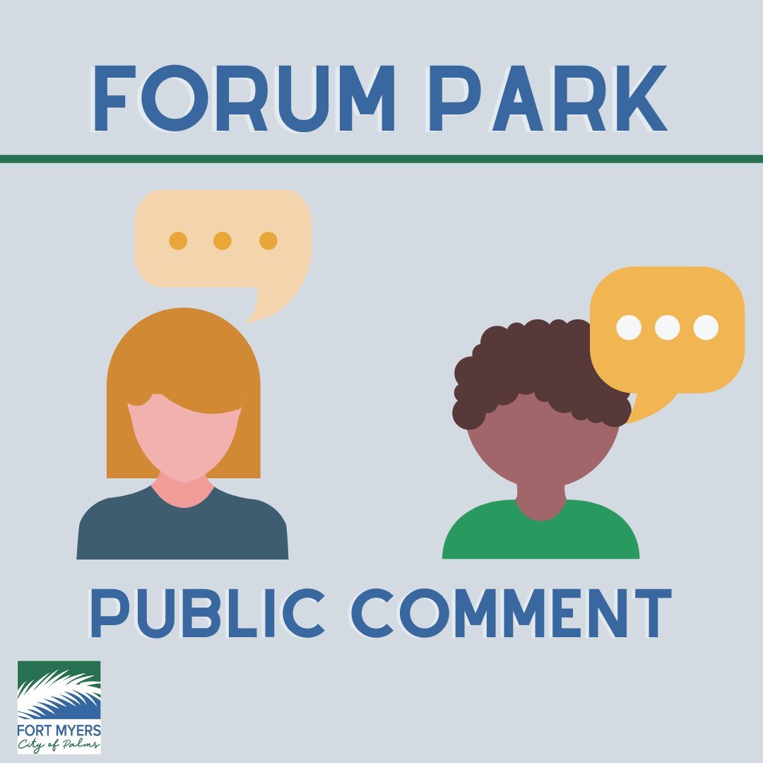 Have you submitted your comments on Forum Park? Only a few days left to make your voice heard, comment on the project website here:  #forumpark #cfm