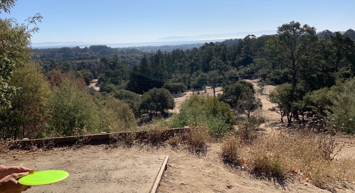 Yaaas! DeLaveaga Park's disc golf course was named in the top 10 in the WORLD and number one in California by disc golf mapping app . A world treasure right in our own back yard!