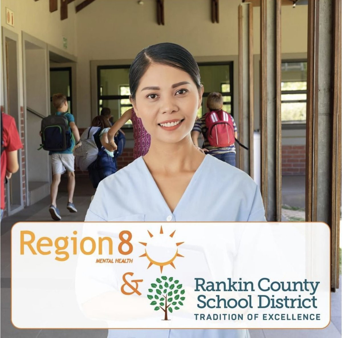 Region 8 is now hiring school-based nurses to serve in the Rankin County School District. Visit  for more information and to apply. #RCSDg2b #traditionofexcellence