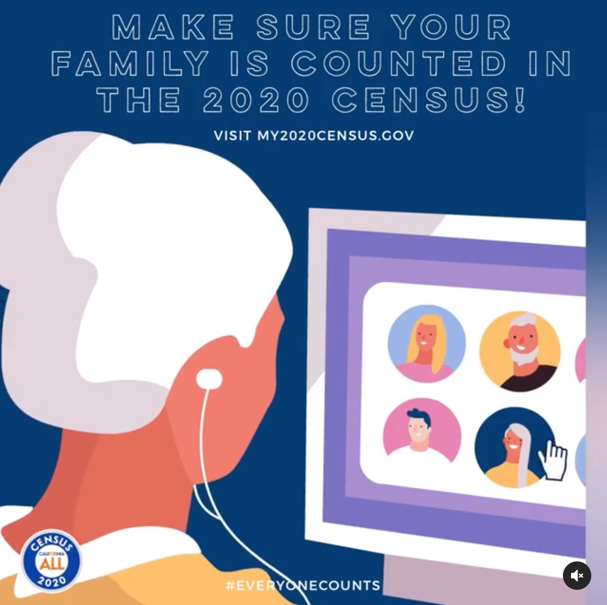 Make sure your family is counted in the Census. Investing just a few minutes in filling out the survey helps determine the future of programs for our kids, their education, and our health care.   Deadline is Wednesday:  or call 844-330-2020